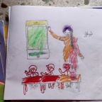 How I began the Color Intervention in rural schools of Uttarakhand?